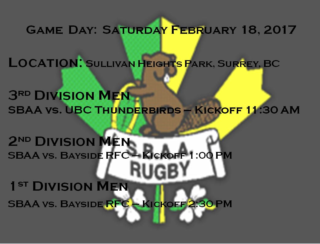 Game Day Feb 18