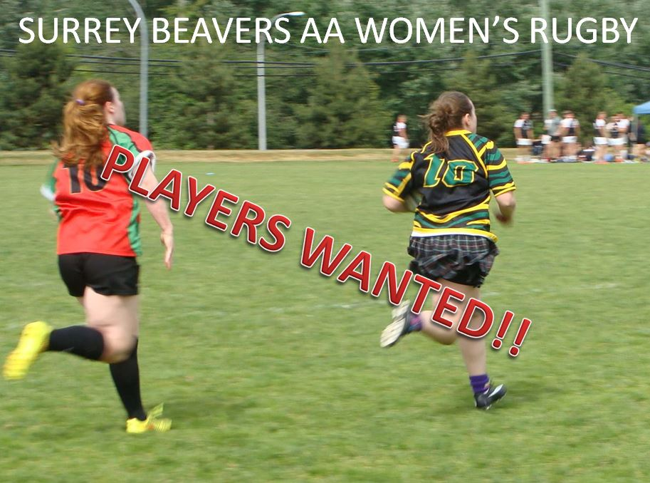 Womens Rugby Poster
